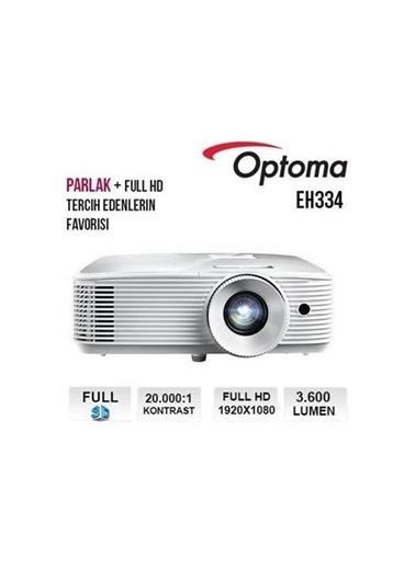ÖTS Optoma Eh334 3600 Ans 1920X1080 Vga,2Xhdmı Renkli